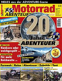 »MotorradABENTEUER« aktuelle Ausgabe